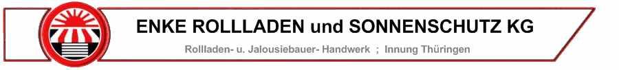 Logo von ENKE ROLLLADEN und SONNENSCHUTZ KG